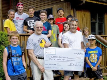 Camp Onyahsa Receives Boost